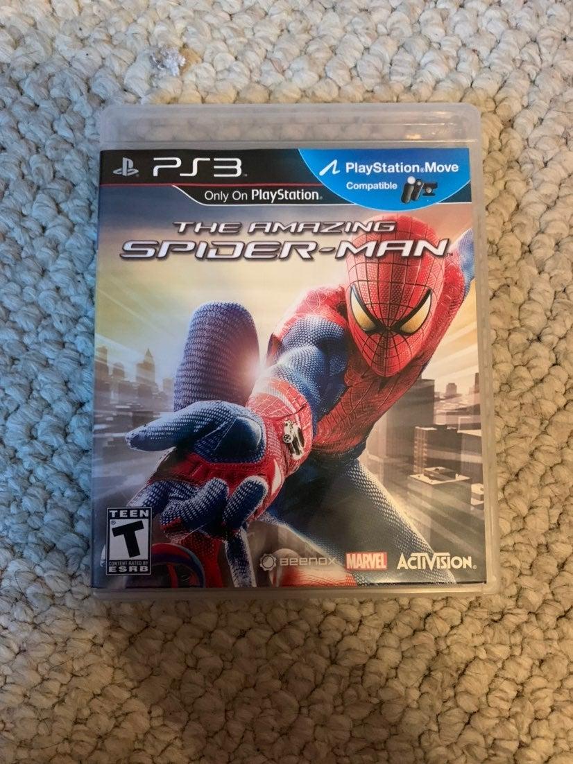 amazing spiderman ps3