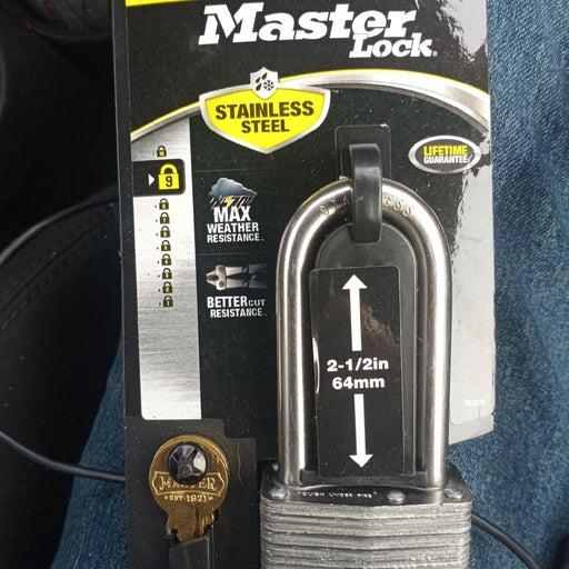 Masterlock stainless steel