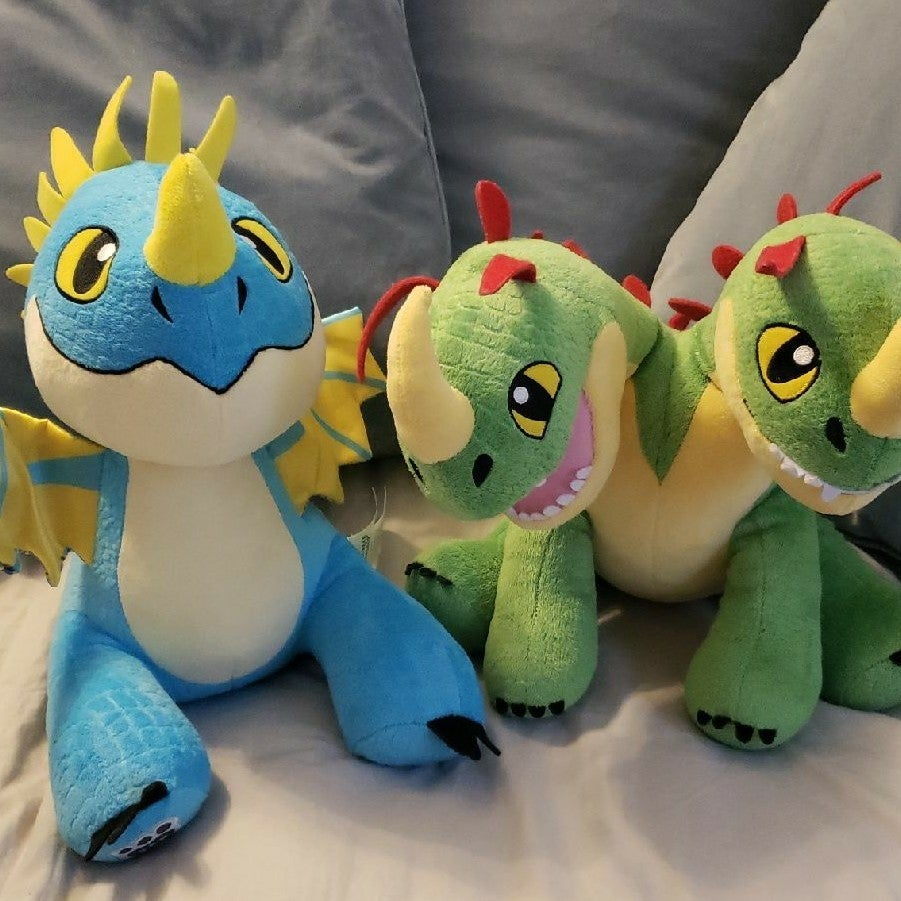 Build a Bear BAB How to Train Your Drago