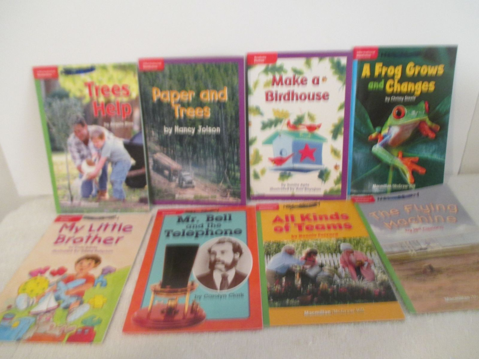 """8 Book Lot """" Read To Find Out """" series"""
