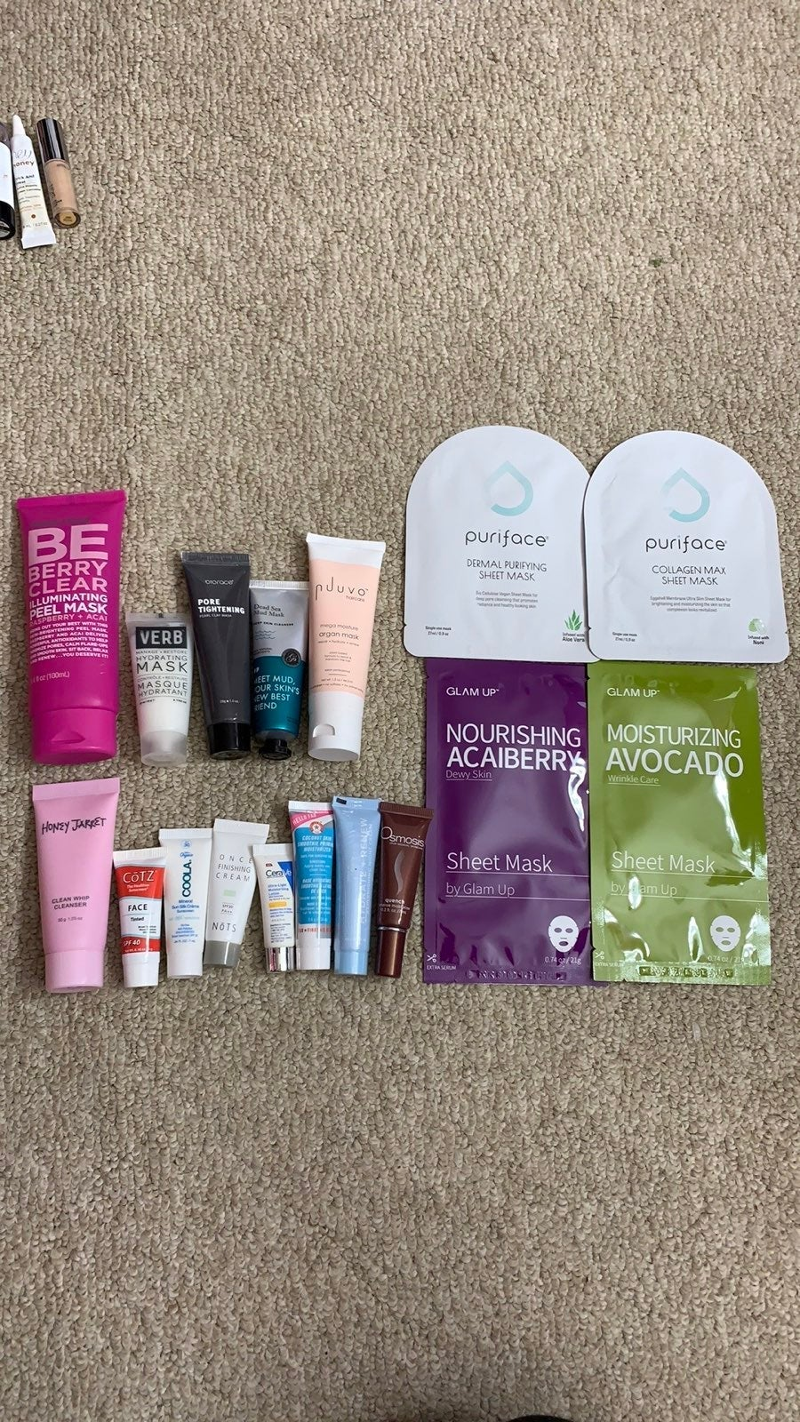 Bundle of skincare products!