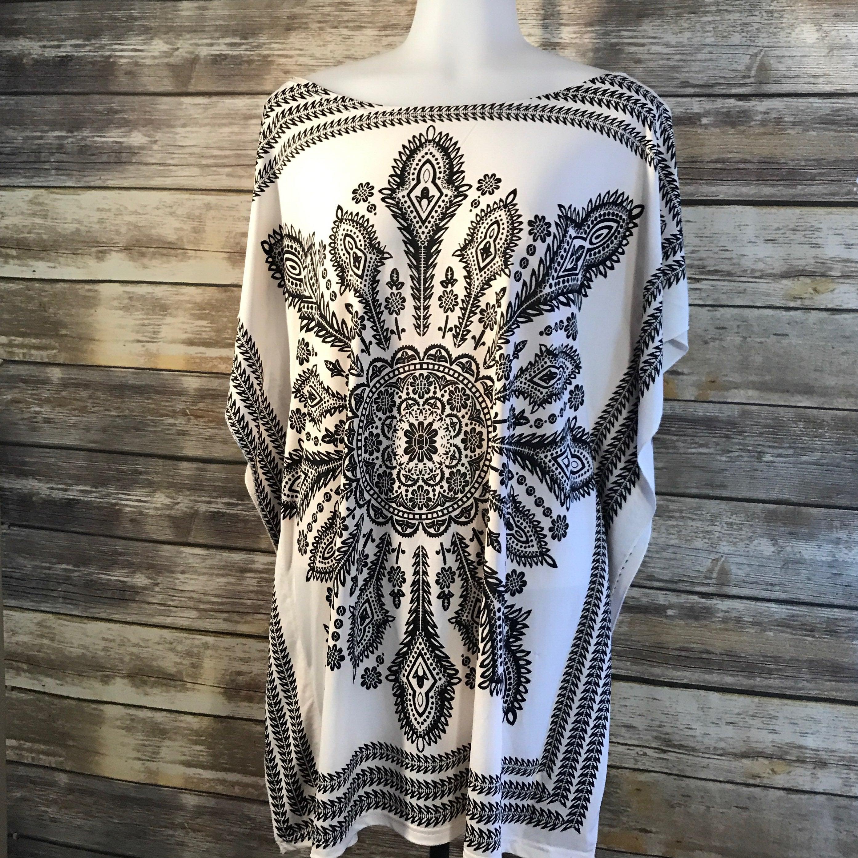 Women's Handkerchief Shirt Boho S/M