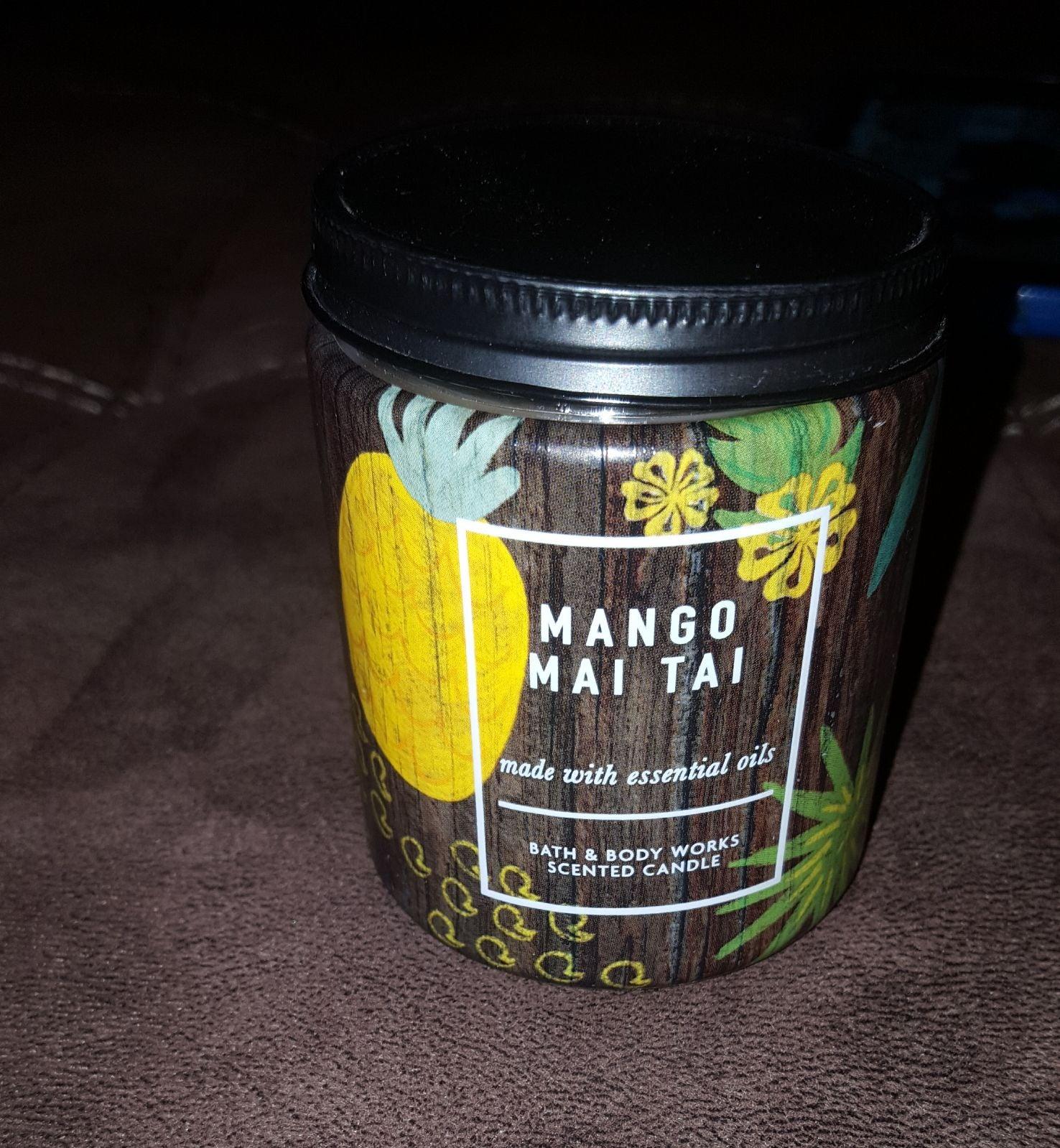 Bbw mango mai tai candle New