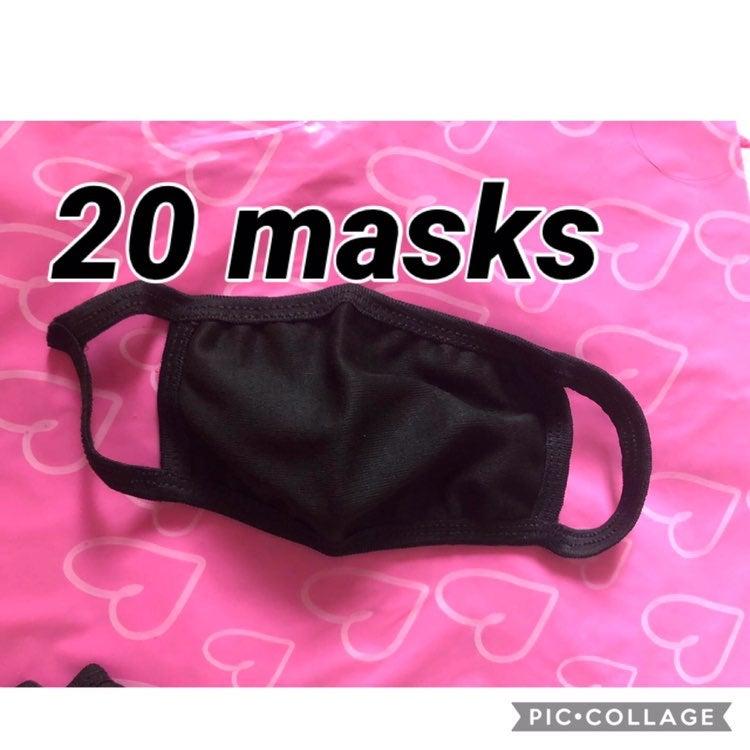 20 face masks