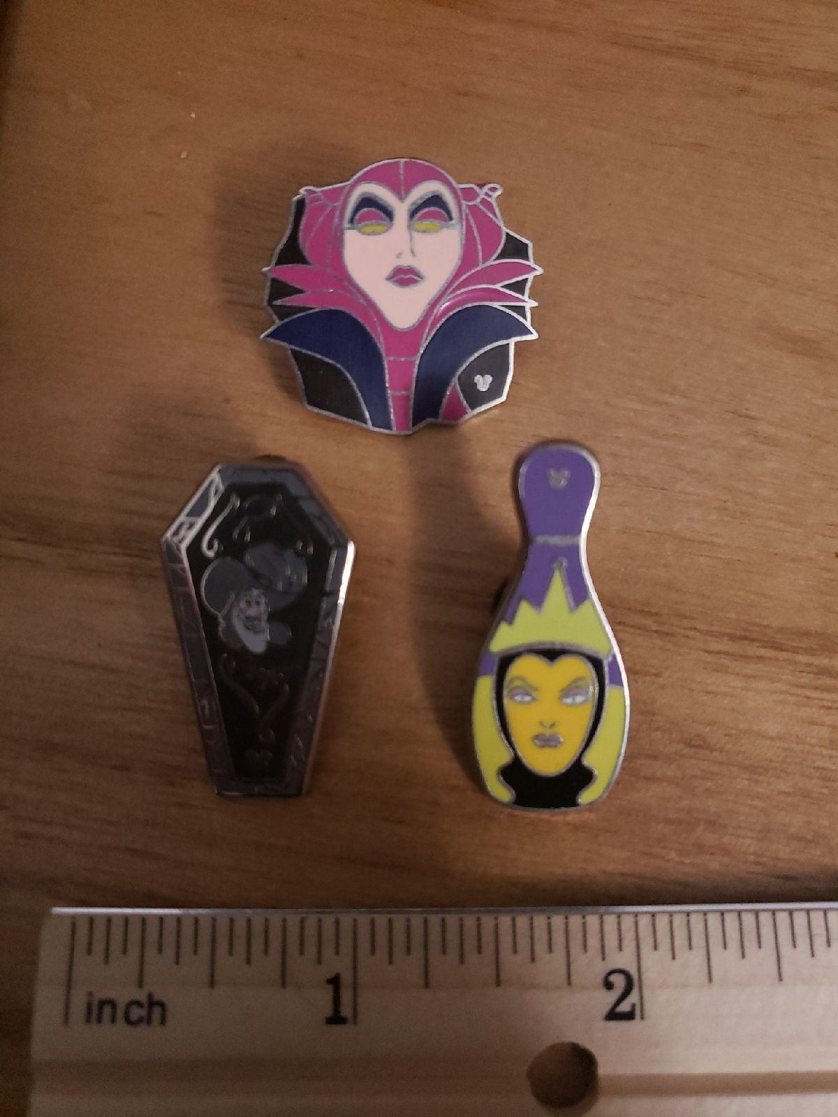 Disney Villians Trading Pins
