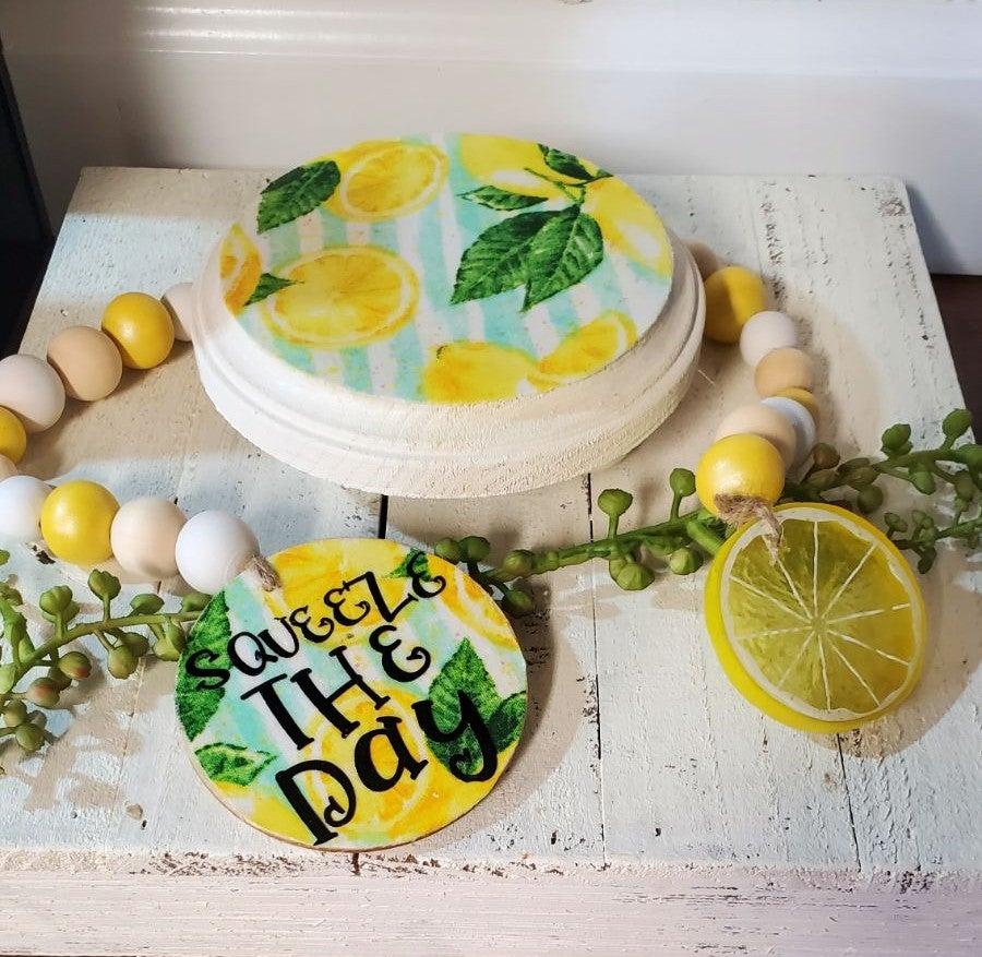 Lemon riser pedestal