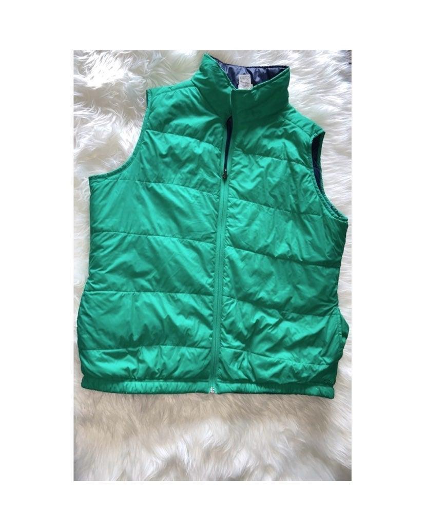 Green Chamption Puffer Vest