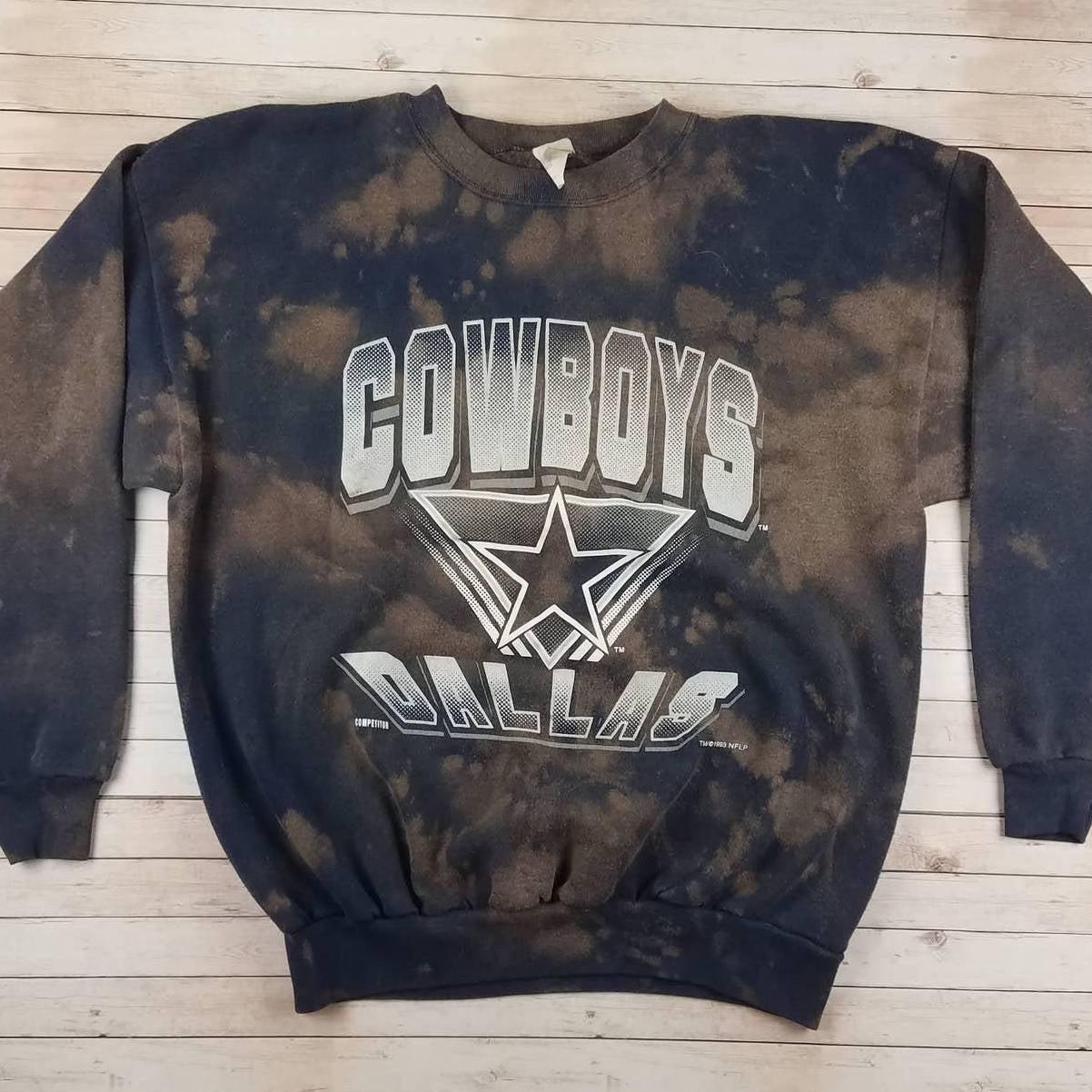 VTG 90s Dallas Cowboys Custom Sweatshirt
