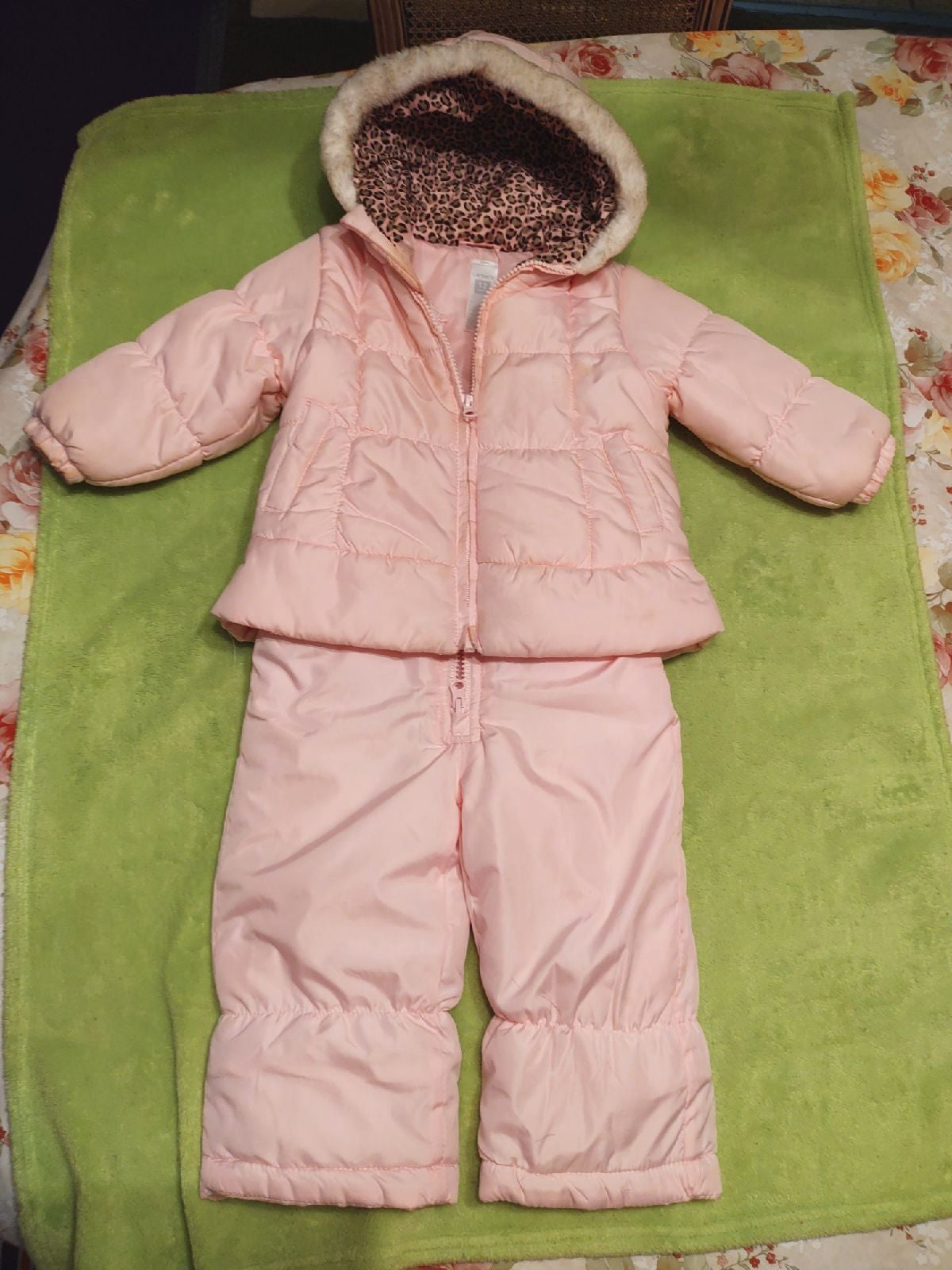 baby snowsuit size 12mo