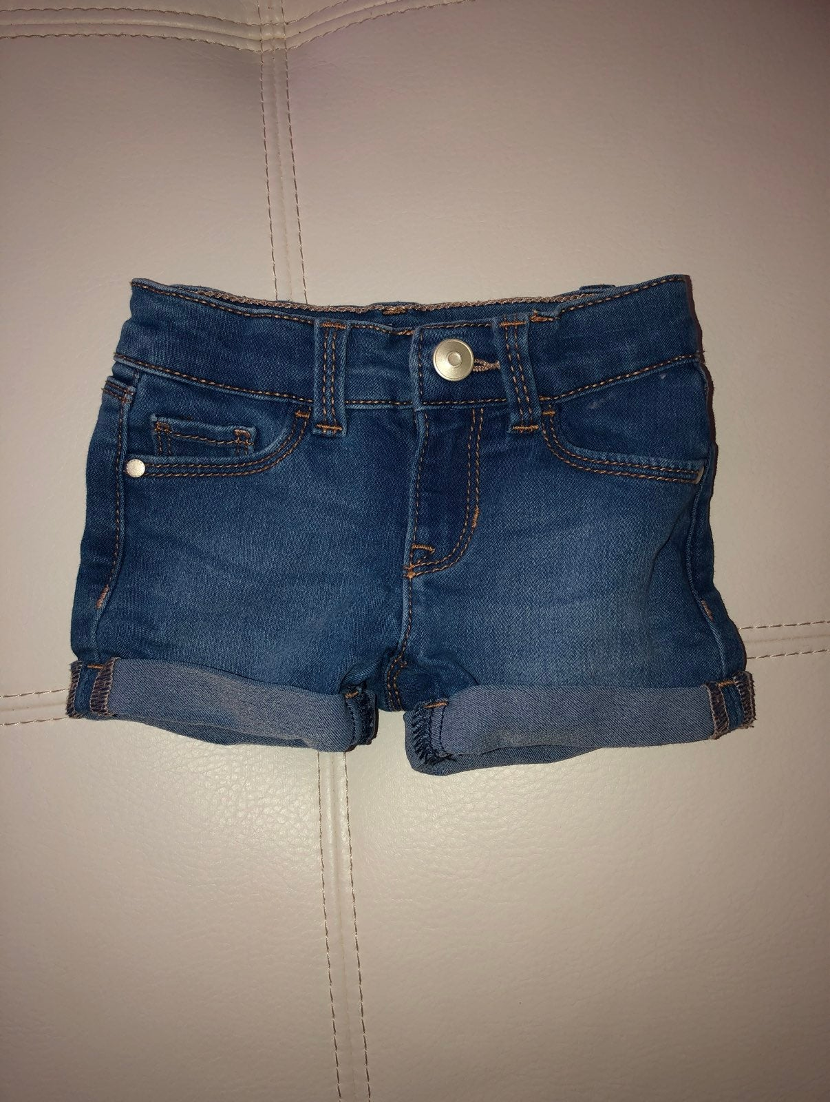 Jean Shorts 12 month girls