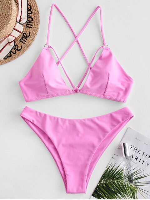 Brand new Zaful Pink Bikini