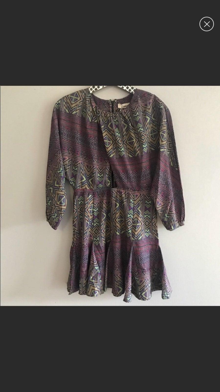 6 Shore Road Aztec Print Dress