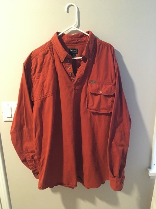 Guide Series Men's XL Tall Cotton Shirt
