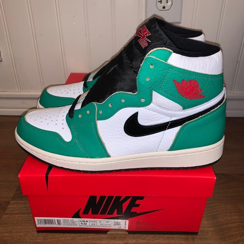 Nike Air Jordan 1 Lucky Green