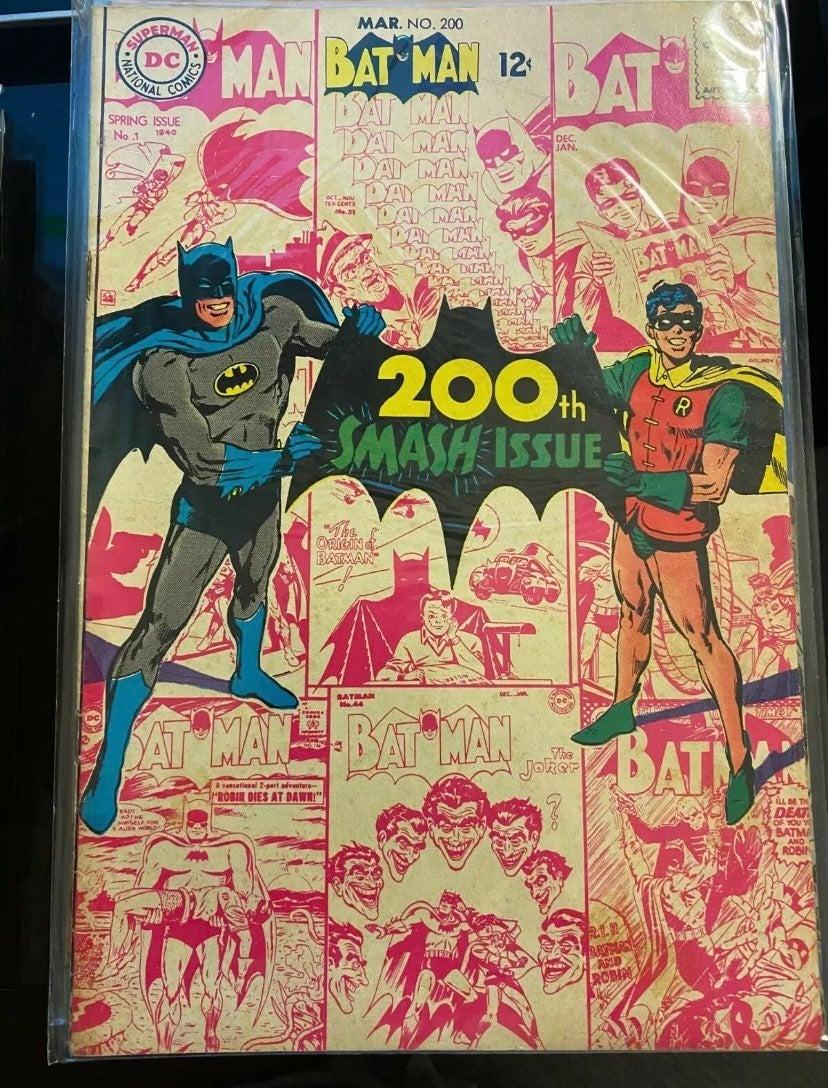 BATMAN #200 1968 VF Scarecrow 1ST NEAL A