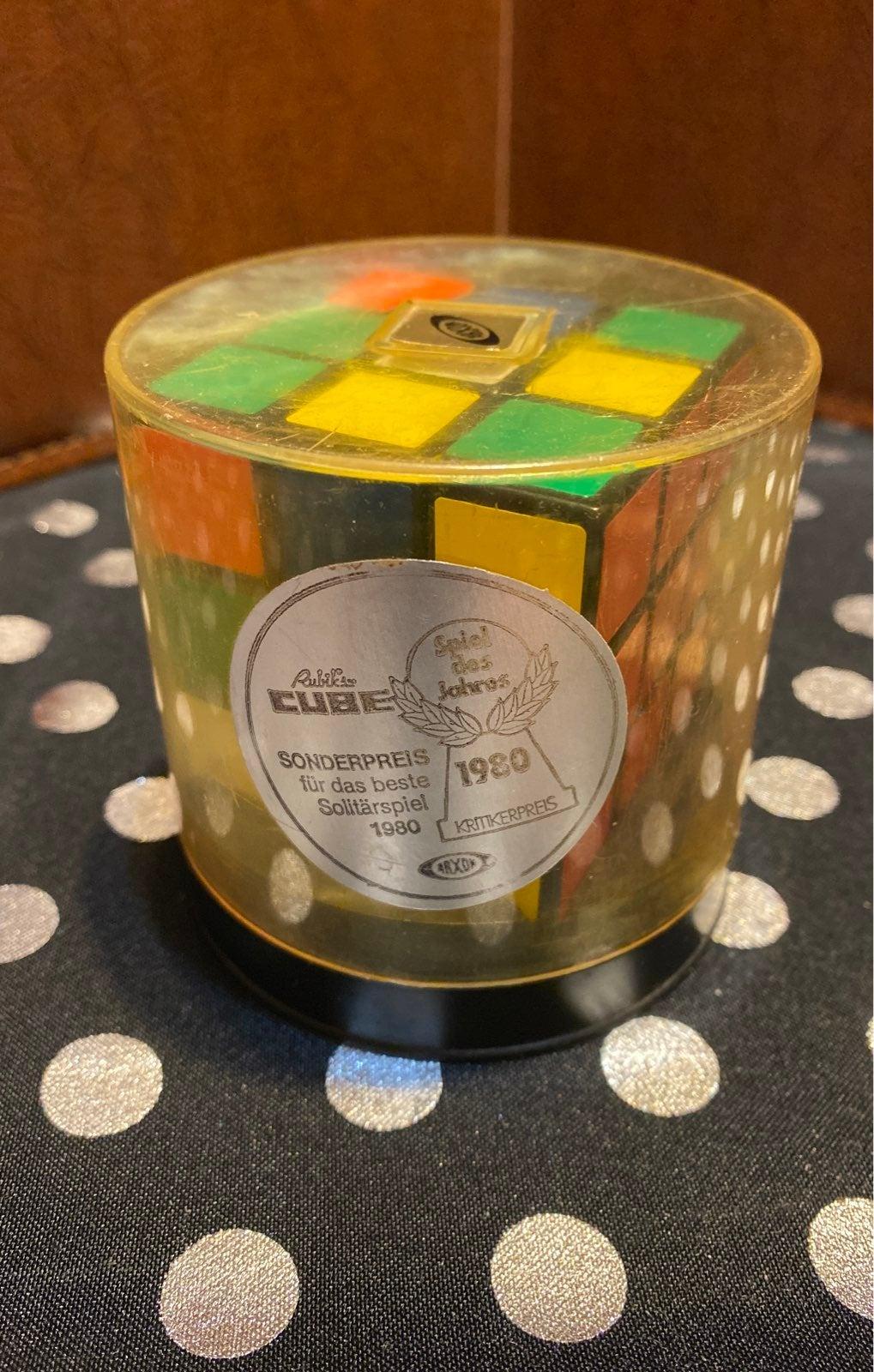 Vtg. Ideal Toy Rubik's Cube 1980's
