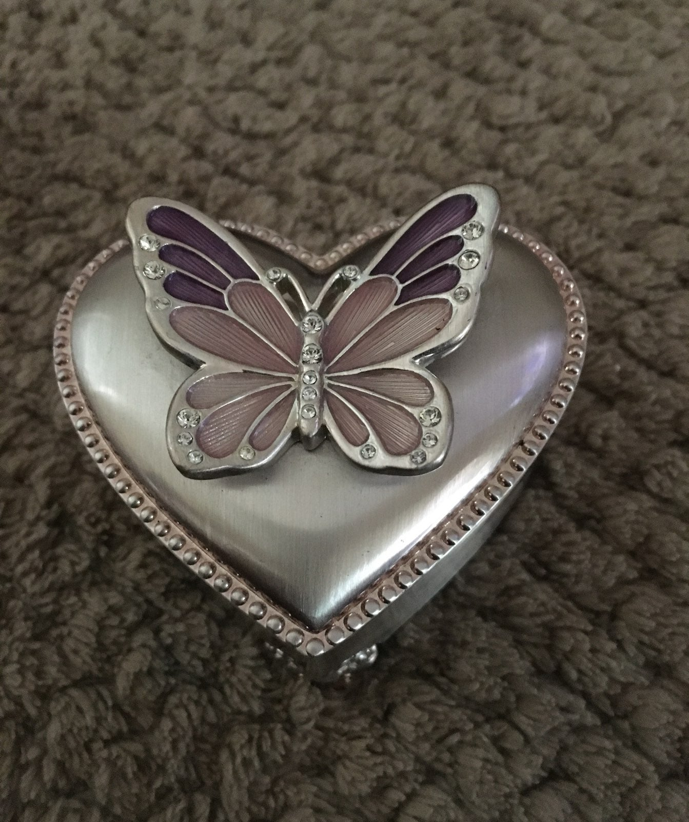 Things remembered butterfly heart box