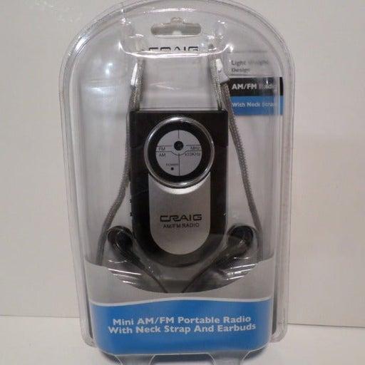 Craig Portable Mini Pocket AM/FM Radio
