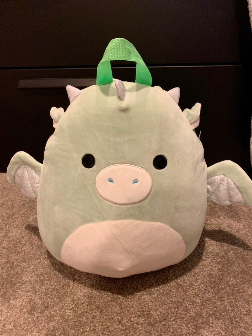 Squishmallow Drew the Dragon Backpack