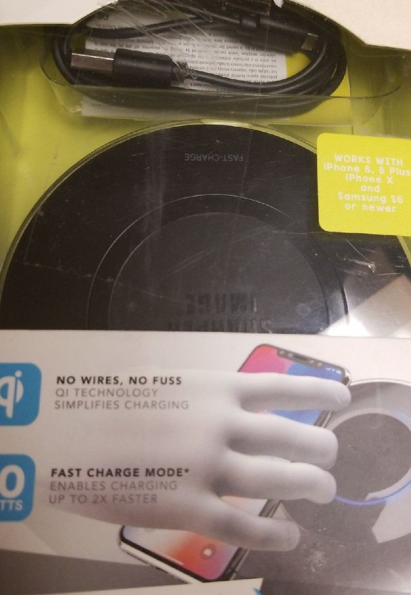 sharper image fast charge wireless