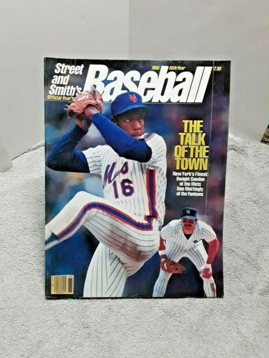 Street & Smith 1986 Baseball Mag Gooden