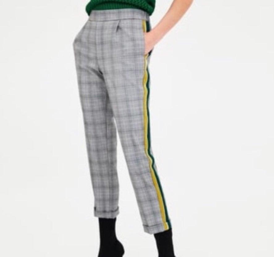 Zara women's plaid pants