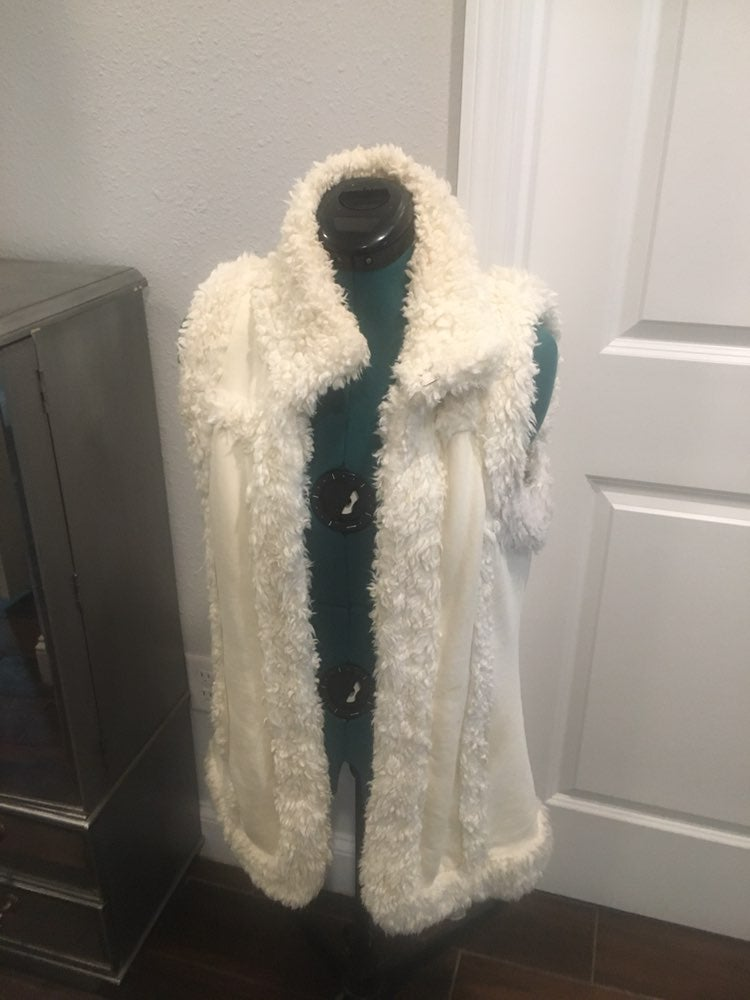 Vintage Lucky Brand cotton vest with She
