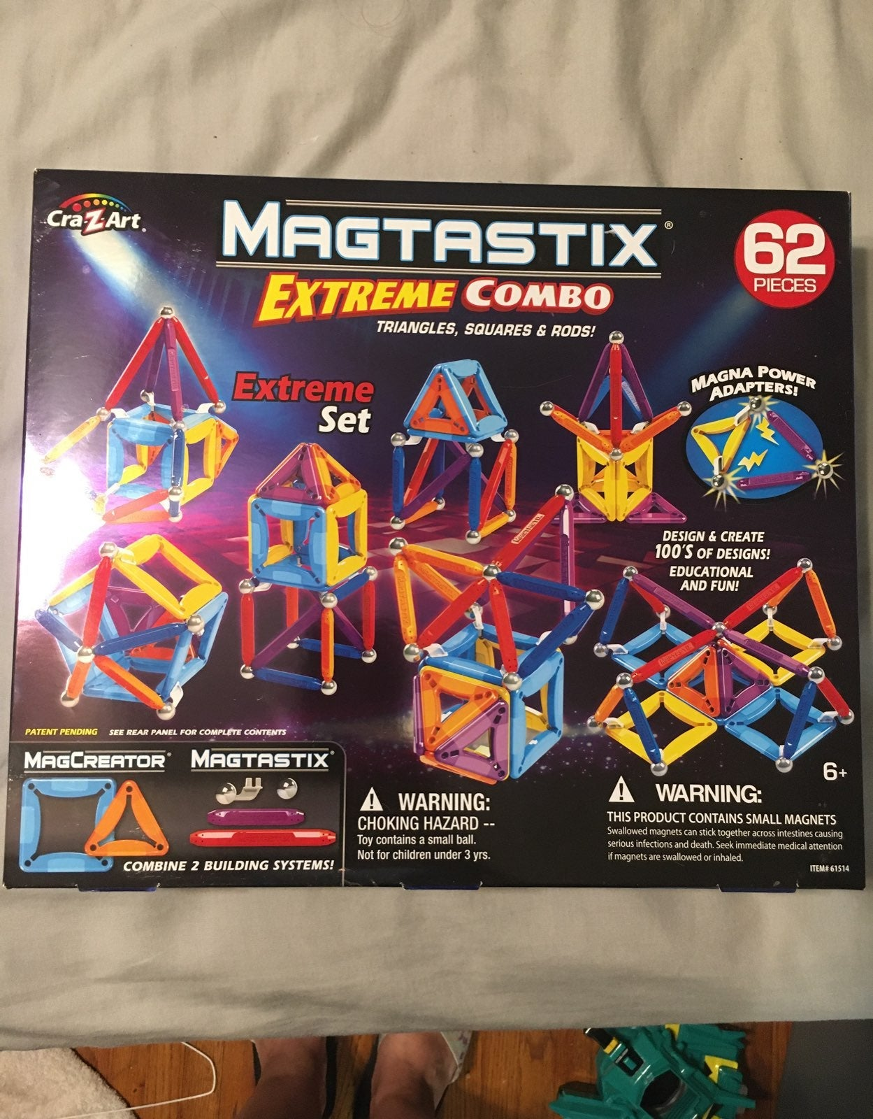 Magtastix 62 piece extreme combo
