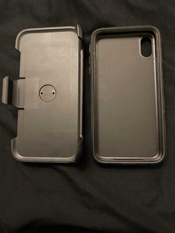 Iphone xs max blackweb case