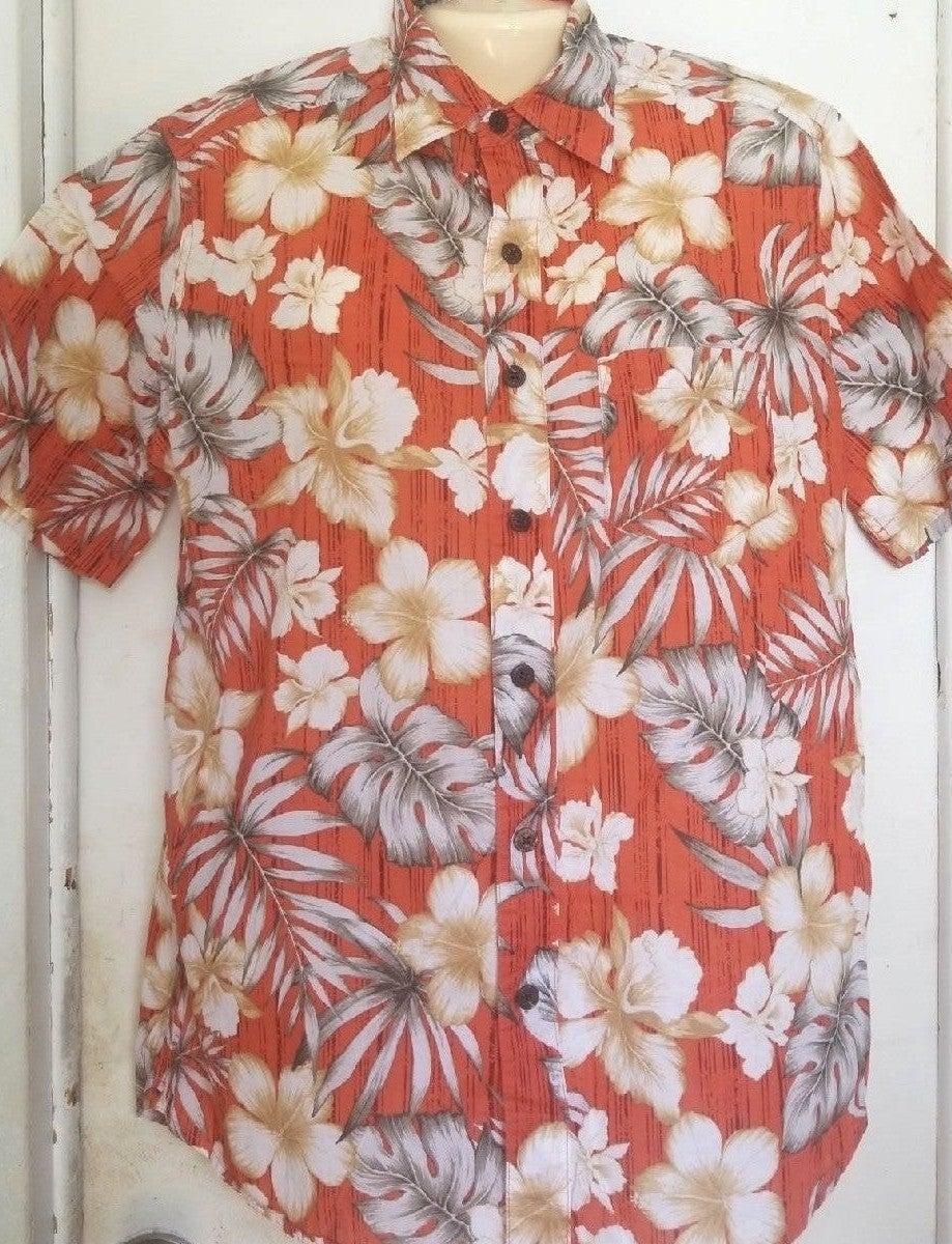 Med Caribbean Joe M Hawaiian Shirt