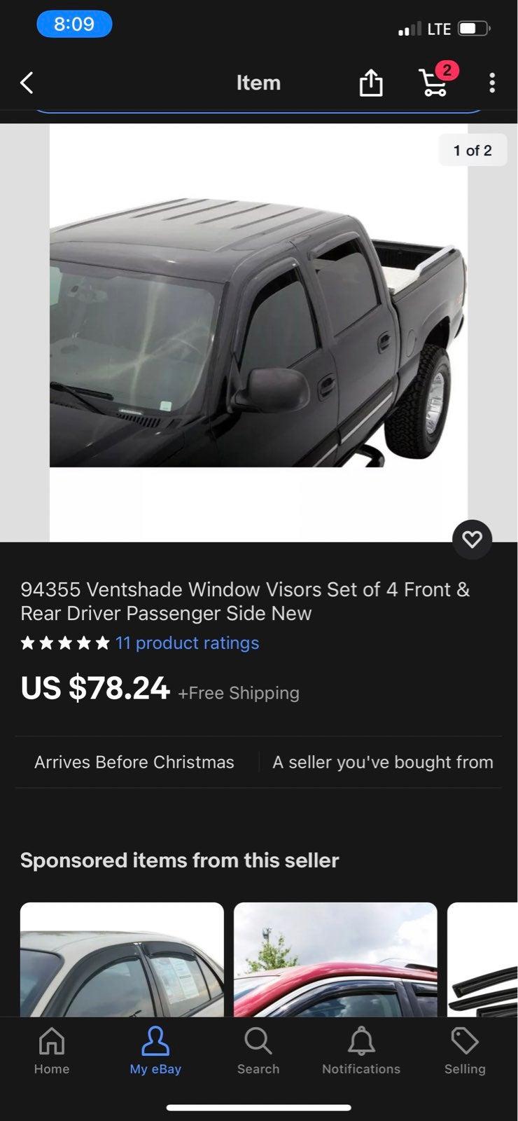 Window visor
