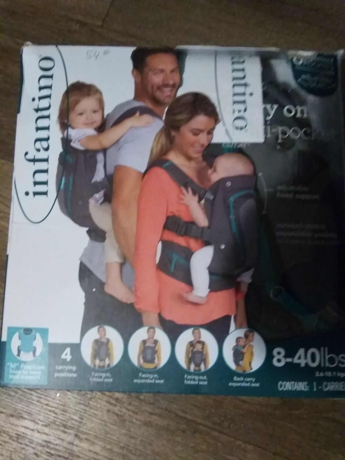 Infantino carry on