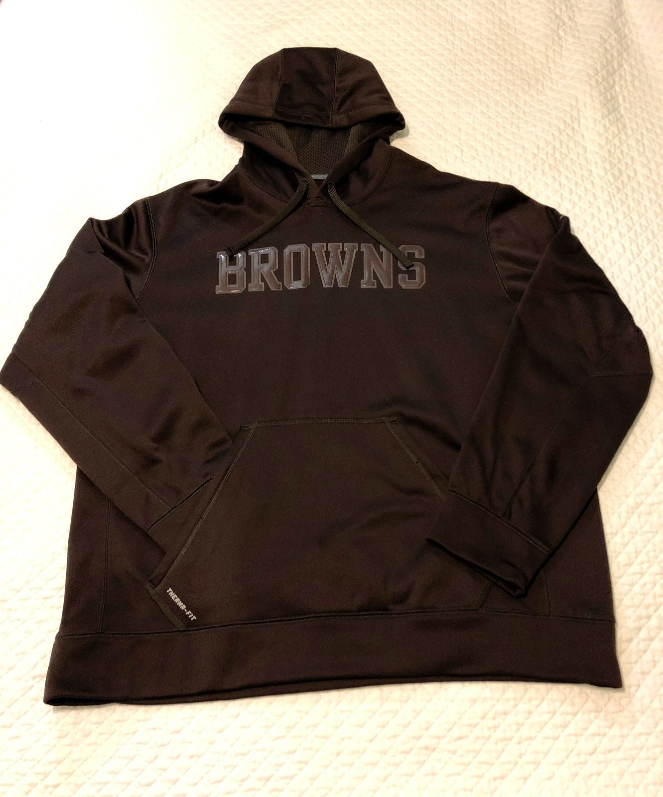 NFL NIKE CLEVELAND BROWNS Hooded Sweater