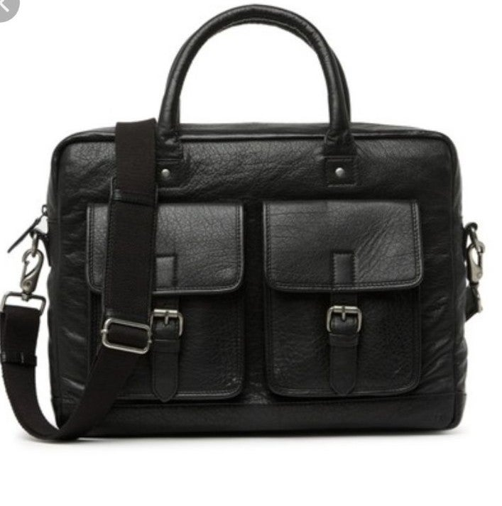 FRYE Men's  Leather Briefcase New