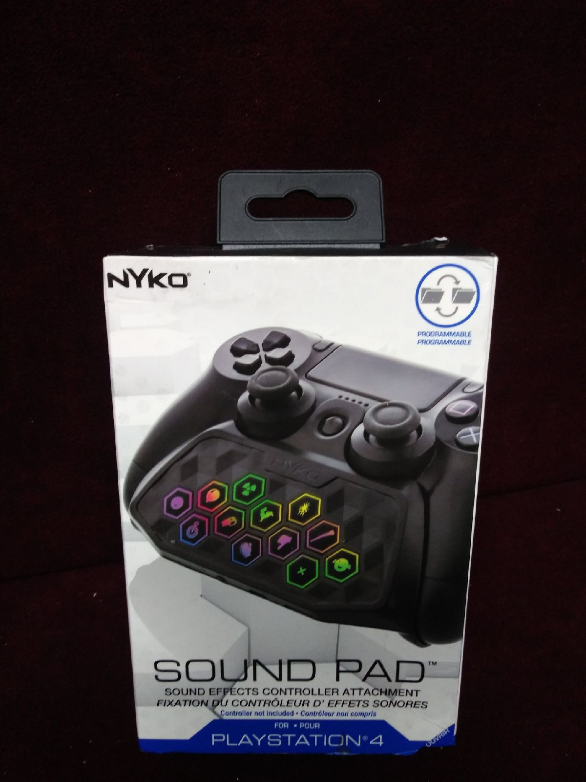 Nyko Sound Pad controller attachment