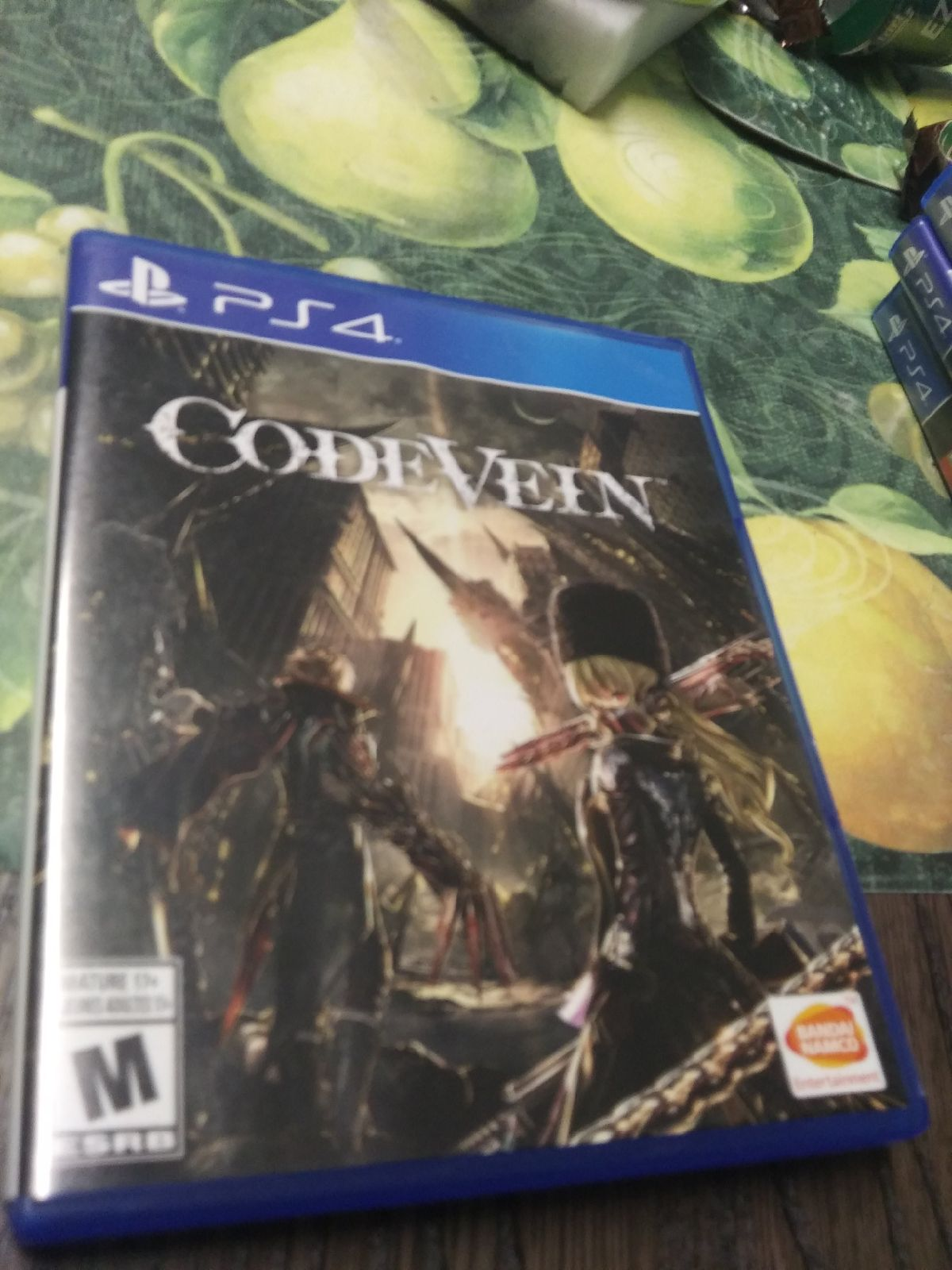 Code Vein on Playstation 4