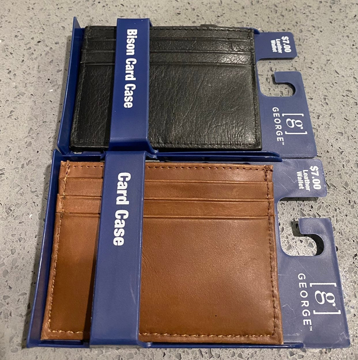 Two Leather Wallets