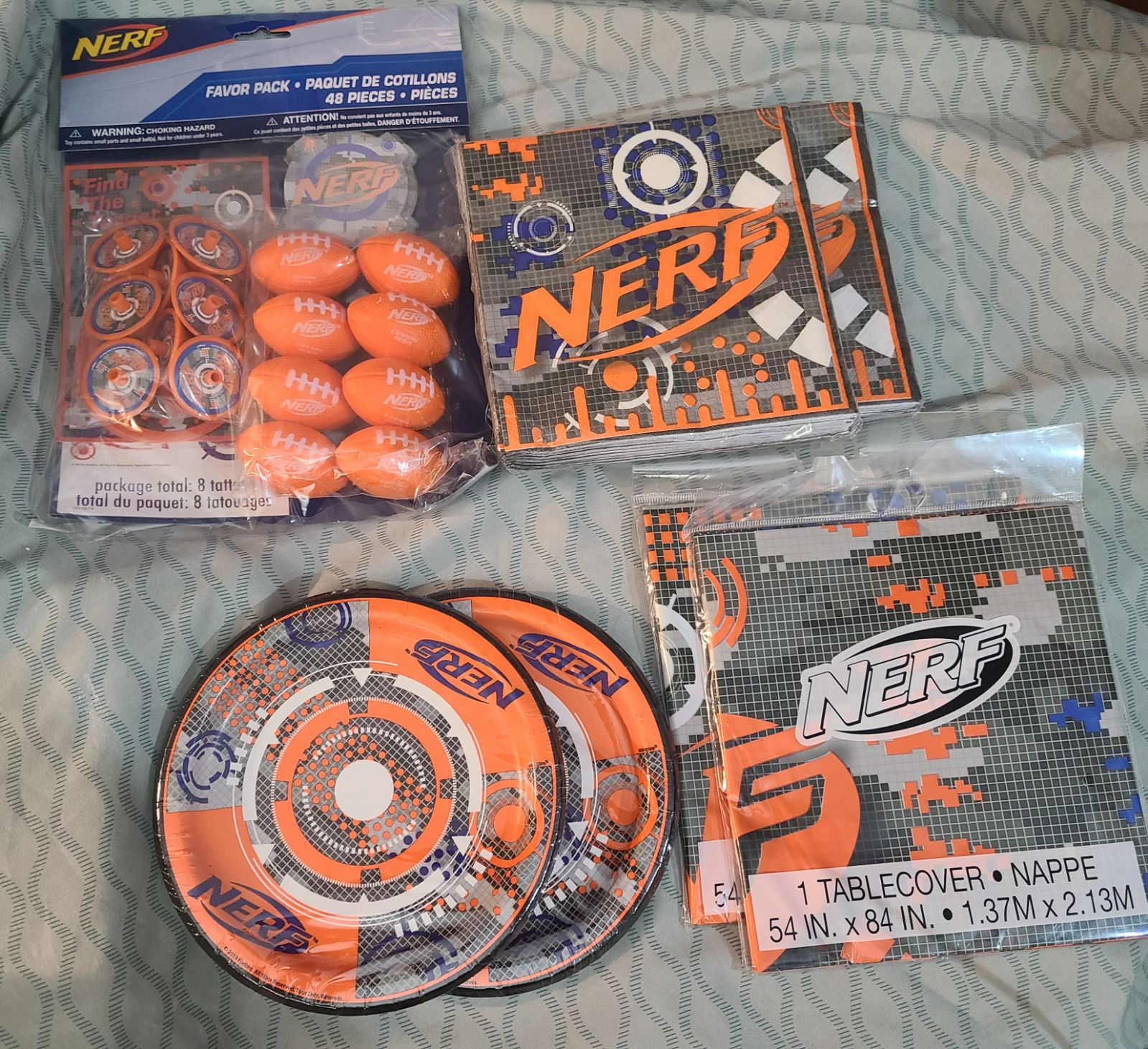 NERF Party Supplies Bundle