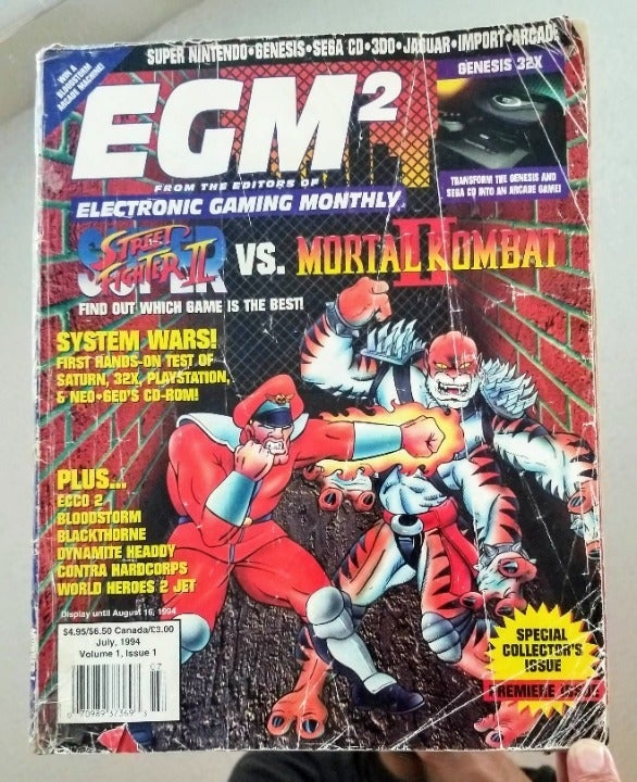 EGM 2 Special Collectors Issue Magazine