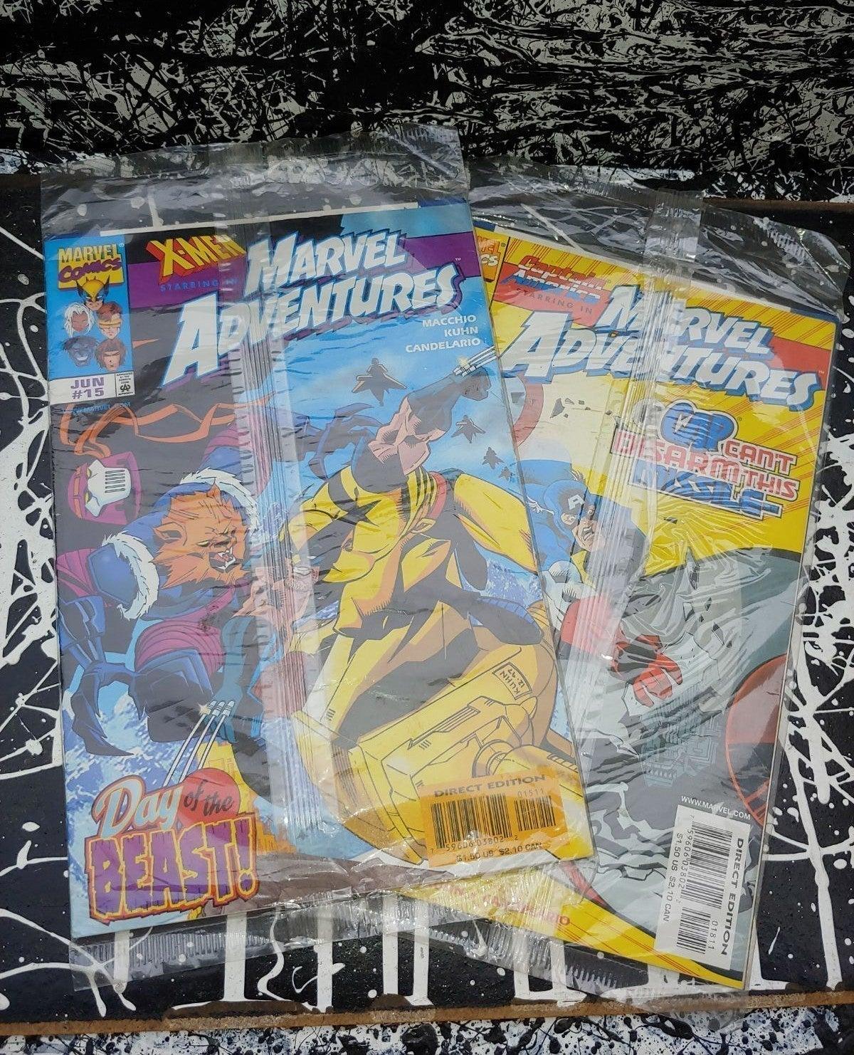 90s Marvel Adventures Comics Sealed