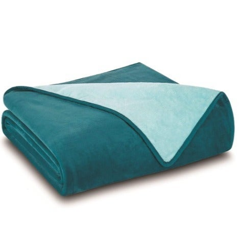 NEW-All Seasons Plush Reversible Blanket