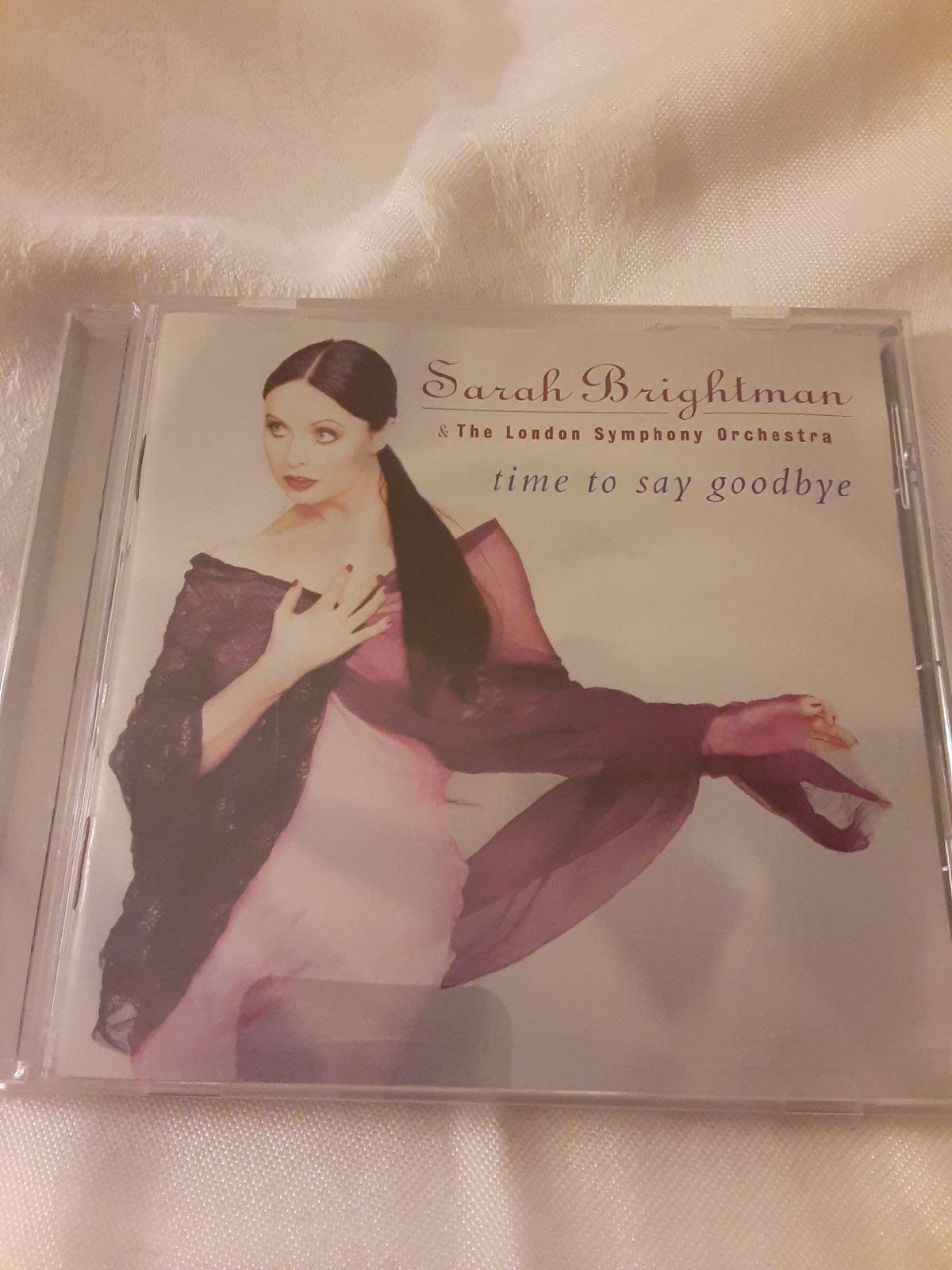 Sarah Brightman Time to Say Goodbye CD .