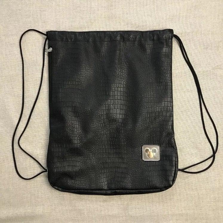 Disney Drawstring Bag Textured Lined