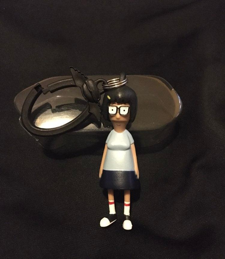 Tina Belcher Keychain