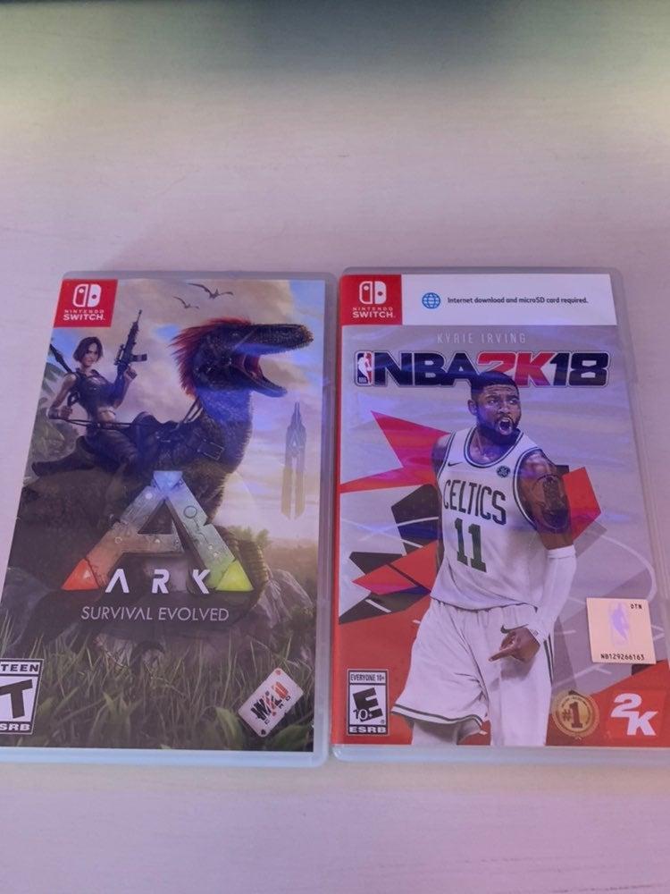 Nintendo switch game bundle