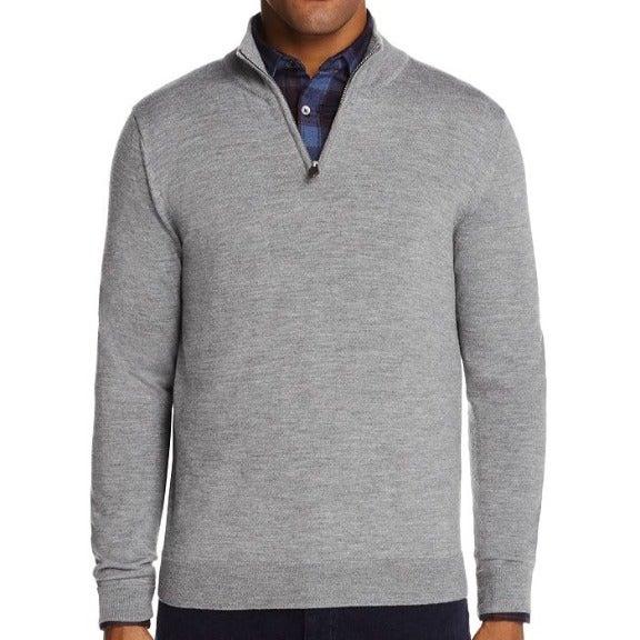 Bloomingdale Quarter-Zip Merino SweaterS