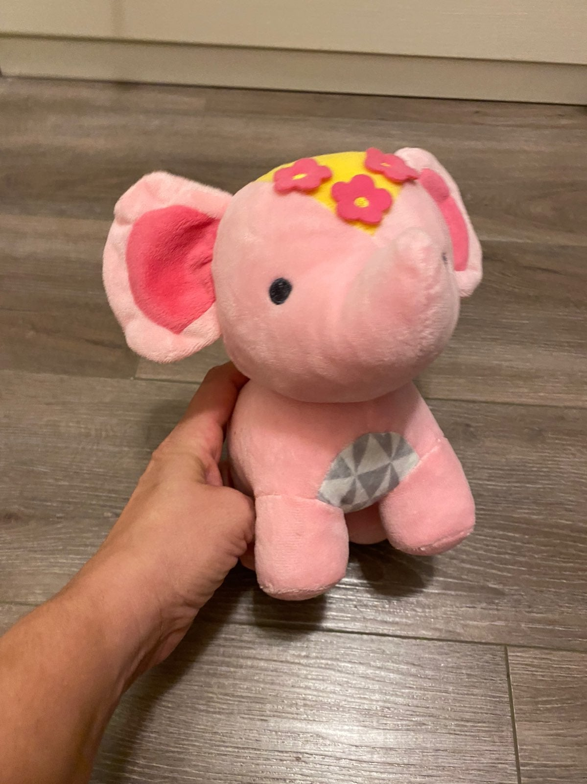 Disney Its a small world plush elephant
