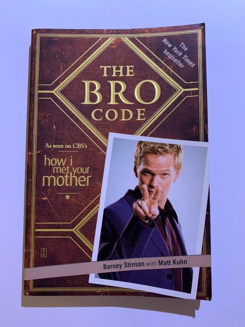 The Bro Code by Barney Stinson (HIMYM)