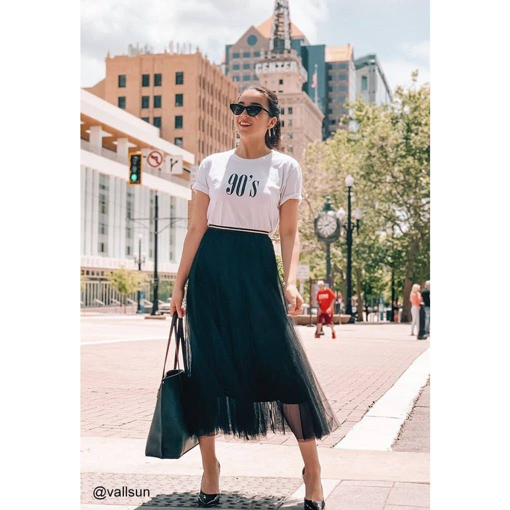 Chicwish MY SECRET WEAPON TULLE SKIRT