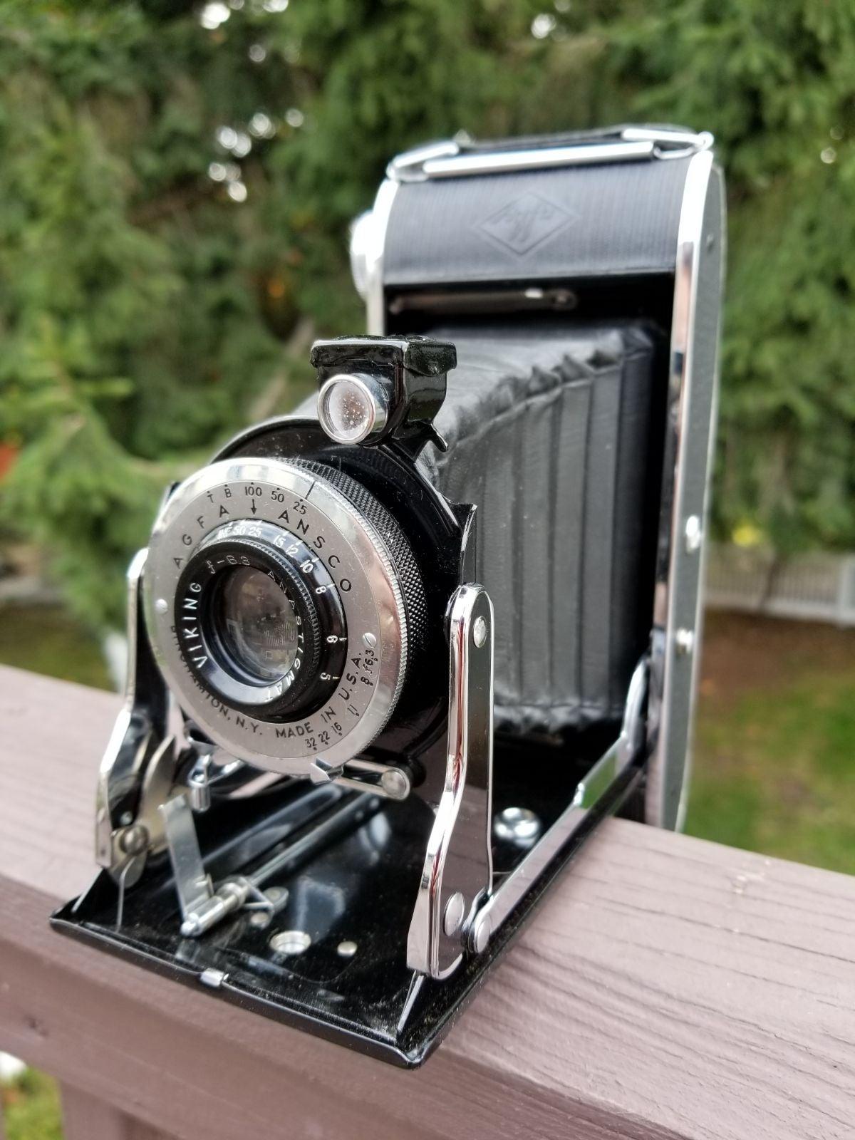 AGFA Viking PD16 F6.3 Folding Camera